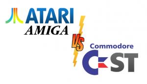Atari Amiga vs Commodore ST