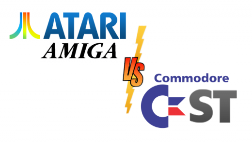 Atari Amiga vs Commodore ST
